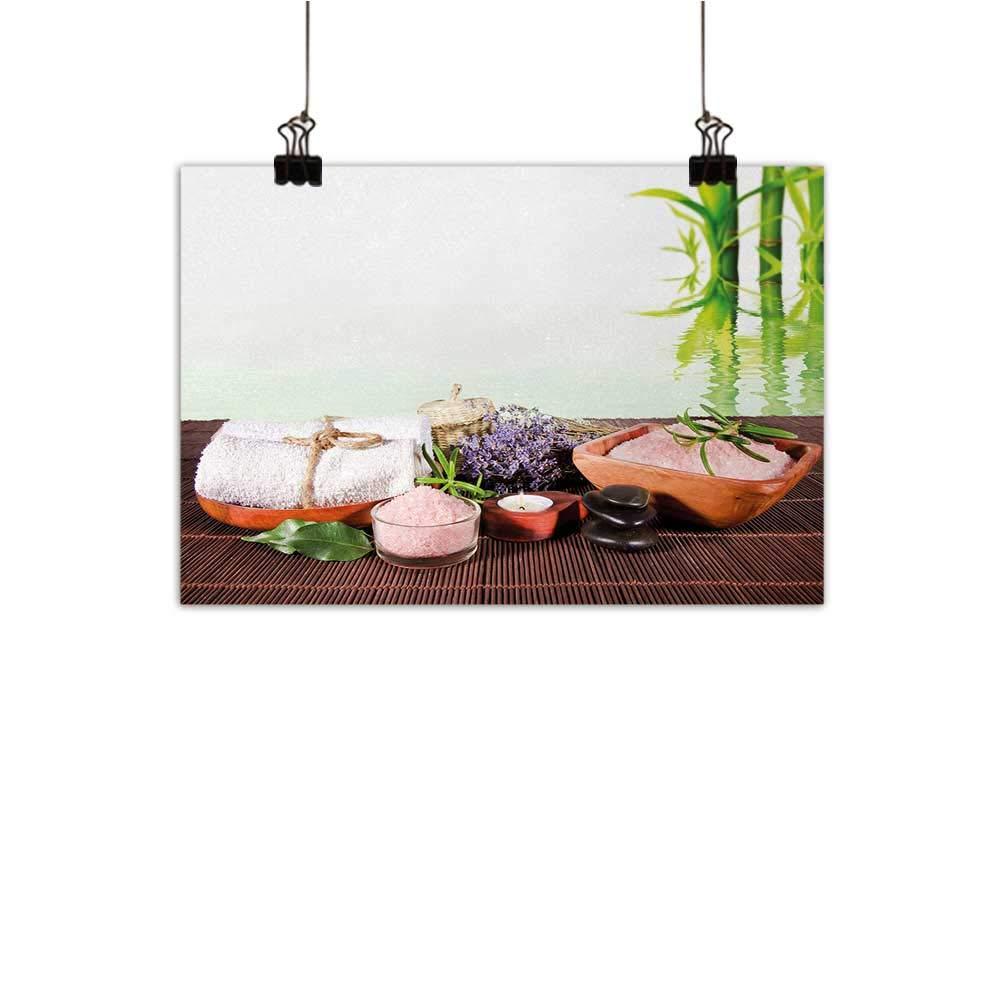 Anzhutwelve ナマケモノ ウォールアート 装飾ポスター 背景に笑顔のナマケモノ 神聖な幾何学のシンボルとレインボーの水彩装飾付き ホーム装飾 ピンク ブルー グリーン 50.8cm x 40.64cm 24