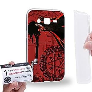 Case88 [Samsung Galaxy J2] Gel TPU Carcasa/Funda & Tarjeta de garantía - Hellsing Alucard Count Dracula 1919