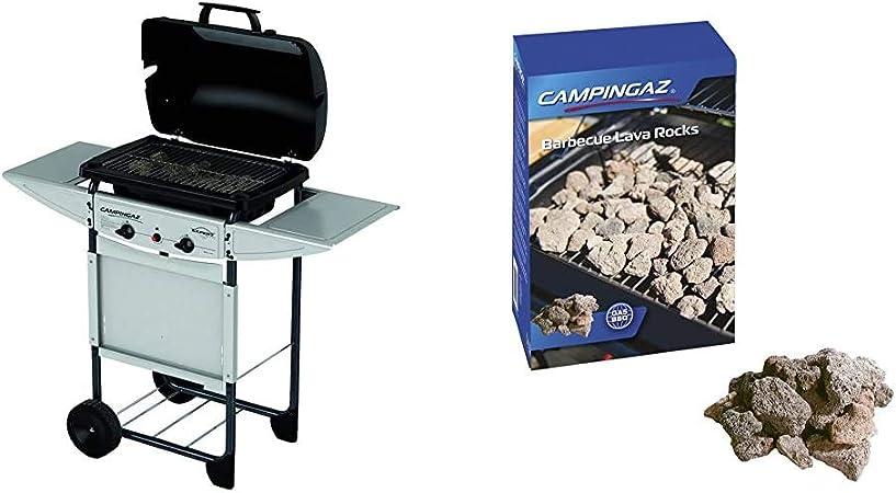 Campingaz Expert Plus Barbacoa gas piedra volcanica + ...