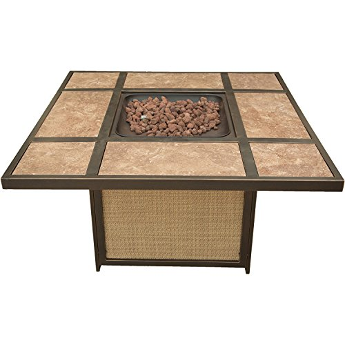 Cambridge ARTISTILE1PCFP Artisan Tile-Top Lp Gas Fire Pit