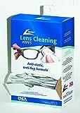 Leader Lens Cleaning Towelette Dispenser, Pack of