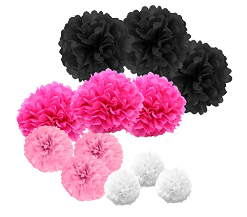 paperjazz paper pom pom for graduation valentine's day