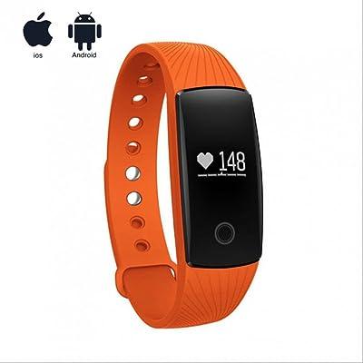Montre intelligente GPS sport Push message,bidirectionnel Anti-Lost,Weather Calender Remind,extrême mince,LED Écran Tactile compatible iPhone,Samsung,Sony,HTC,LG et autres