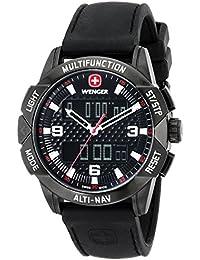Unisex 70440 Analog-Digital Display Swiss Quartz Black Watch