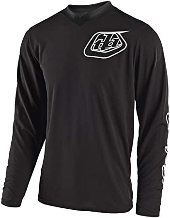 Black Small Troy Lee Designs GP Mono Youth Off-Road Motorcycle Jersey