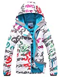 APTRO Women's High Windproof Technology Colorfull Printed Ski Jacket Style #11 Size S