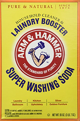 Church   Dwight Co 03020 Arm   Hammer Super Washing Soda 55 Oz   Pack Of 3