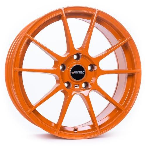 AUTEC Wizard Racing orange 7, 5x17 ET47 5.00x112.00 Hub Bore 70.00 mm - Alu felgen W7517475072127