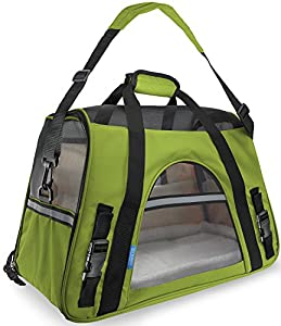 36. Paws & Pals Airline Approved Pet Carriers w/ Fleece Bed