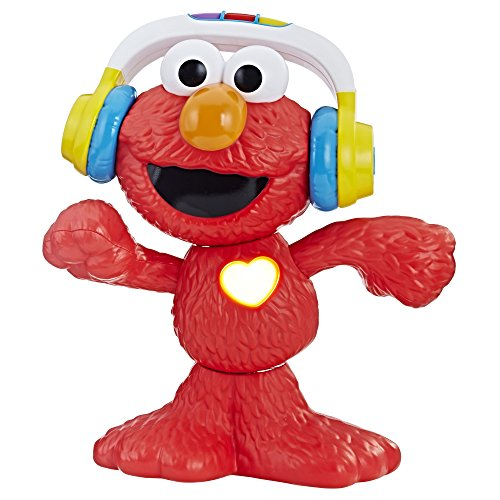 Sesame Street Let's Dance Elmo: 12-inch Elmo Toy that Sings and Dances, With 3 Musical Modes, Sesame Street Toy for Kids Ages 18 Months and Up]()