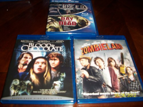 The Breed / Day Of the Dead, Blood & Chcolate, Zombieland