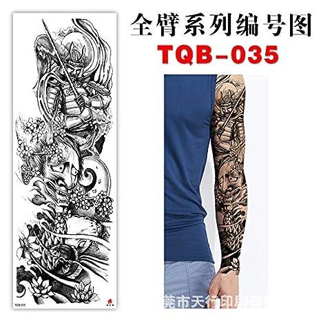 tzxdbh 5pcs-Brazo Completo Tatuaje Brazo Brazo Ambiental ...