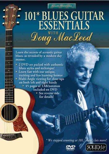 - Acoustic Masterclass Series: Doug MacLeod -- 101 Blues Guitar Essentials 2 DVDs