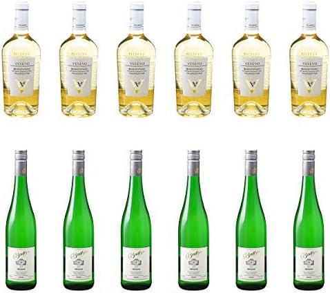 [ 12本 まとめ買い ワイン 飲み比べ ] 2018年 ベネヴェンターノ ファランギーナ (ヴェゼーヴォ) 750ml と 2018年 バルテン リースリング クーベーアー (トーマス バルテン) 750ml ワインセット