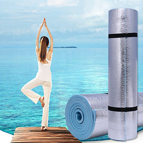 GaoCold Exercise Yoga Mat 6mm Thick Durable EVA Mats Exercise Gym Fitness Workout Non-Slip Pad Camping