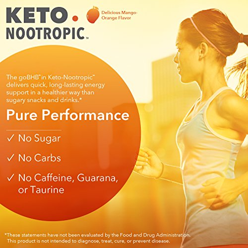 Designs for Health - Keto-Nootropic Powder - Exogenous Ketone Energy & Cognitive Support, 540g by designs for health (Image #3)