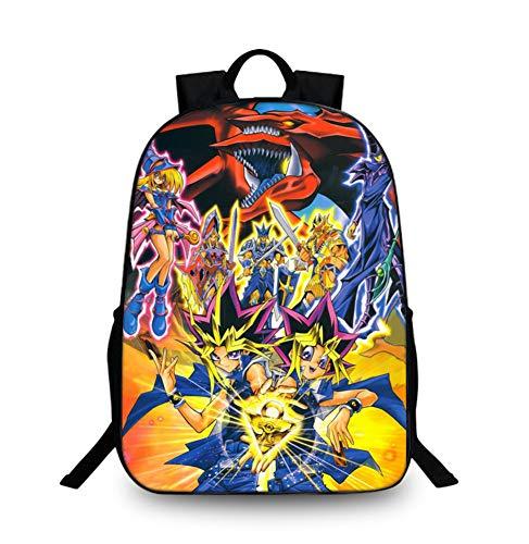 Gumstyle Yu Gi Oh Anime Children Bookbags Backpack School Bag 14