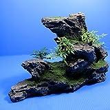 Mountain Aquarium Ornament tree - Rock Cave stone HIDE