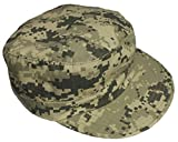 Adjustable Military Fatigue Patrol Cap ACU Digital by Mafoose