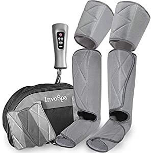 Masajeador de piernas para la circulación – masajeador de pies y pantorrillas máquina de botas de masaje de compresión… 51bN44 2BmRrL