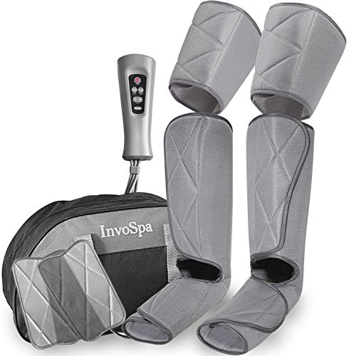 Masajeador de piernas para la circulación – masajeador de pies y pantorrillas máquina de botas de masaje de compresión…
