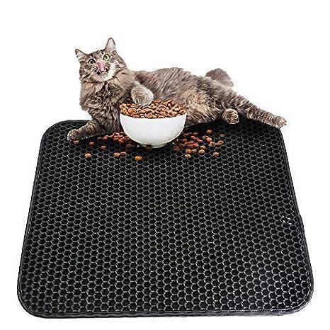 Roblue - Alfombra de Arena para Gatos, Mascotas, Doble Capa ...