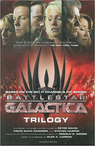 Book Battlestar Galactica Trilogy: The Cylons' Secret/Sagittarius Is Bleeding/Unity