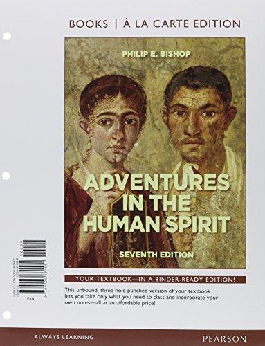 Adventures in the Human Spirit, Books a la Carte Edition