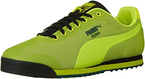 Puma Mens Roma Hm Mode Sneaker Säkerhet Gul / Puma B
