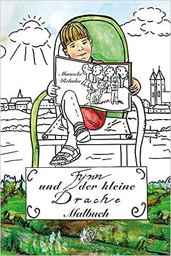Book Fynn und der kleine Drache - Malbuch