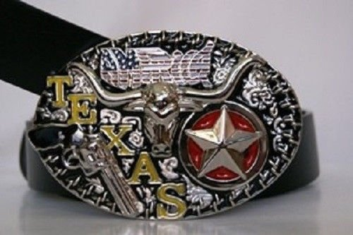 (ALBATROS Texas Lone Star and Revolver Belt Buckle for Home and Parades, Official Party, All Weather Indoors Outdoors)