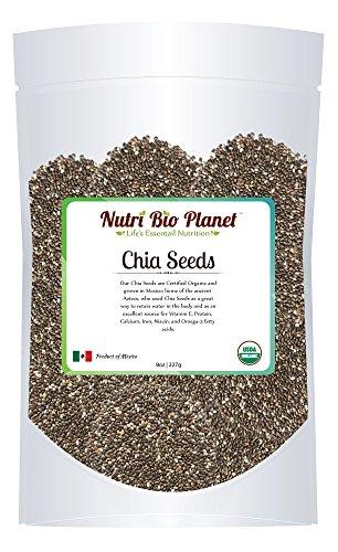 100 Certified Organic Chia Seeds