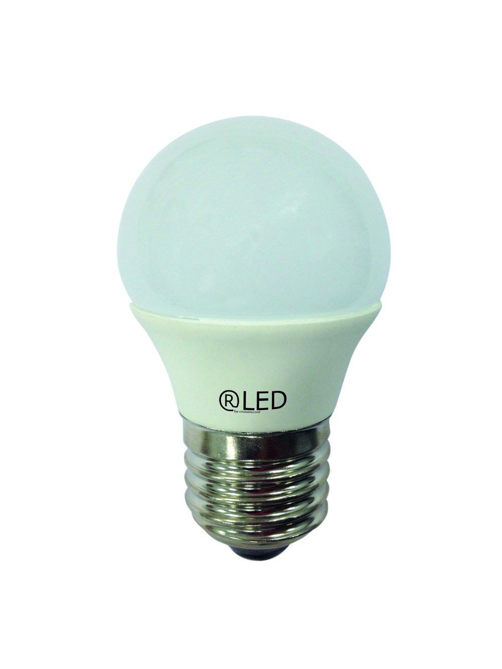 RLED Bombilla LED Esférica, Luz Neutra E27, 6 W, Blanco, 4.5 x 7.4 cm: Amazon.es: Iluminación