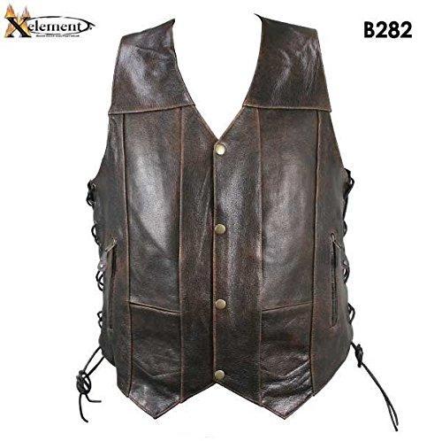 Xelement Leather Tie - 1