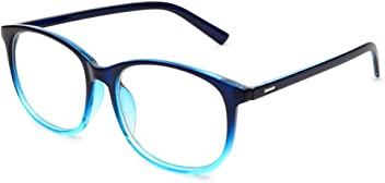 77fa62f74c Jcerki Oversize Frame Nearsighted Glasses-1.00 Strength Short Sighted Men  and Women Lightweight Myopia Spectacles