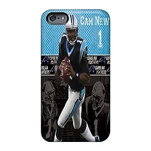 LeoSwiech Apple Iphone 6s Plus Anti-Scratch Cell-phone Hard Covers Customized Fashion Carolina Panthers Skin [aDs1383DqCm]