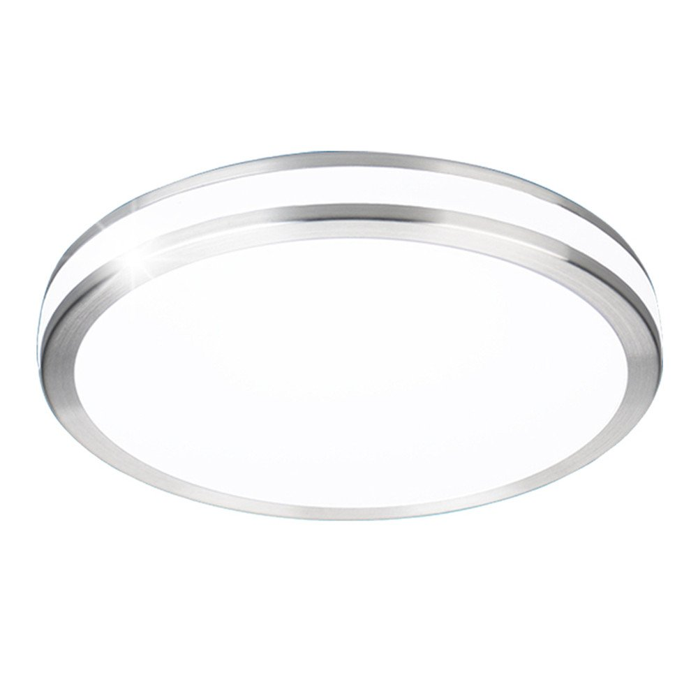 AFSEMOS LED Flush Mount Ceiling Light,13'', 32W(170W Incandescent Equivalent), Surface Mounted Downlight,Round LED Ceiling Lights for Bedroom,Living Room,Kitchen,2600lm,Cool White(6000K)