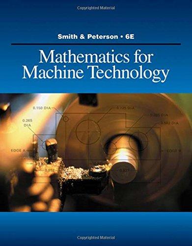 Books : Mathematics for Machine Technology (Applied Mathematics)