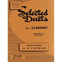 Selected Duets for Clarinet: Volume 2 - Advanced