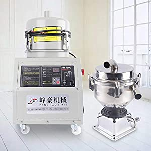 WUPYI 110V 1200W Automatic Material Feeding Machine,Auto Loader,Automatic Feeder,Vacuum Feeder,Material Automatic Feeding Machine,310kg/h