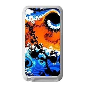 Diseño abstracto Persoanlized diseño iPod Touch 4carcasa de TPU para iPod Touch 4diseño