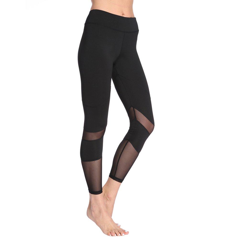 Power Tech Maglia da donna a vita alta Gym Leggings da yoga Running Tights Sport Pant Moresave