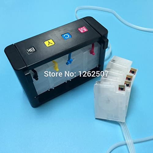 HP932 HP933 932Xl 933Xl 932 933 Continuous Ink Supply System Ciss for HP Officejet 7510 7512 7612 Printers Show Ink Level Chips Printer Spare Parts