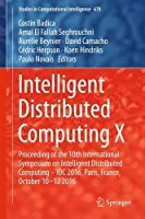 Intelligent Distributed Computing X Front Cover