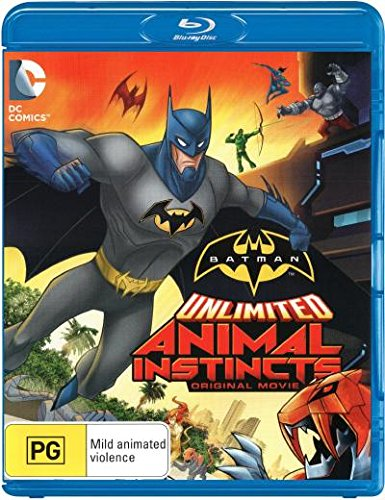 Batman Unlimited: Animal Instincts [Original Move] [NON-USA Format / PAL / Region B Import - Australia]