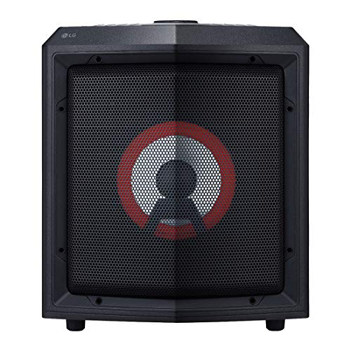 LG RL2 Bluetooth Party Speaker with Trolley and Party Lighting (Black)
