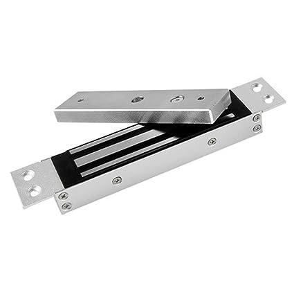 yanghx eléctrica magnética Cerradura electromagnética Fuerza de sujeción para Control de Acceso Puerta 12 V