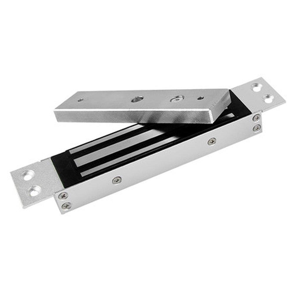 YANGHX Electric Magnetic Electromagnetic Lock Flush Mount (350LB) Holding Force for Access Control Single Door 12V - 180KG