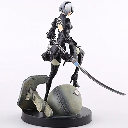 GALIGEIGEI NieR: Automata Yorha No. 2 Type B,2B PVC collectible figure, statue 6″