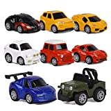 ToyerBee Car Toys-Die-cast Cars and Pull Back